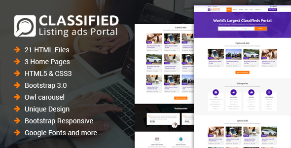 Classified classified and listing html template by hassanmalik19 classified classified and listing html template business corporate maxwellsz