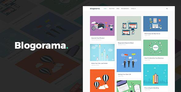 Blogorama - A Responsive WordPress Blog Theme by DJMiMi - ThemeForestBlogorama - A Responsive WordPress Blog Theme - 웹