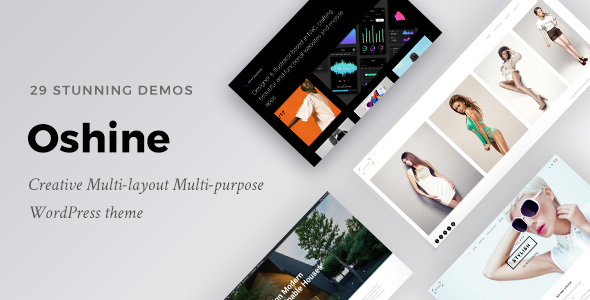 Oshine - Multipurpose Creative Theme by brandexponents | ThemeForest