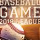 Baseball Flyer-Graphicriver中文最全的素材分享平台