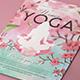 Women Yoga Flyer / Poster-Graphicriver中文最全的素材分享平台