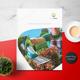 Eco Garden Brochure-Graphicriver中文最全的素材分享平台