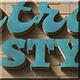 3D Retro Grunge Styles-Graphicriver中文最全的素材分享平台