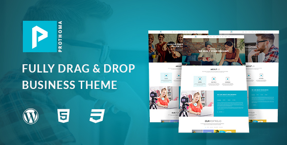 Preview. large preview - Prothoma- Corporate, Business WordPress Theme