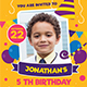 Kids Birthday Party-Graphicriver中文最全的素材分享平台
