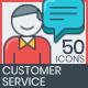 Customer Service Icons-Graphicriver中文最全的素材分享平台