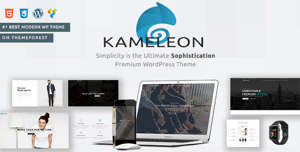 Kameleon | Responsive Creative Theme by SayenThemes | ThemeForest