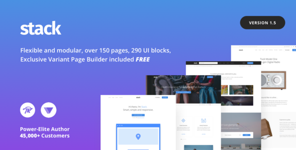 Stack - Multi-Purpose WordPress Theme with Variant Page Builder ...