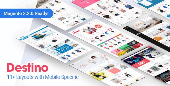 Destino - Premium Responsive Magento Theme with Mobile-Specific ...