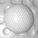 C4D Golf Ball Model