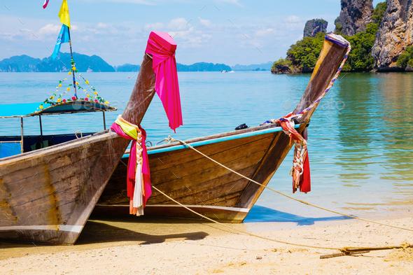 rent longtailboat in aonang