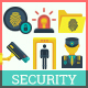 IT Security Icons-Graphicriver中文最全的素材分享平台