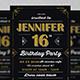 Birthday Party Invitation v-Graphicriver中文最全的素材分享平台