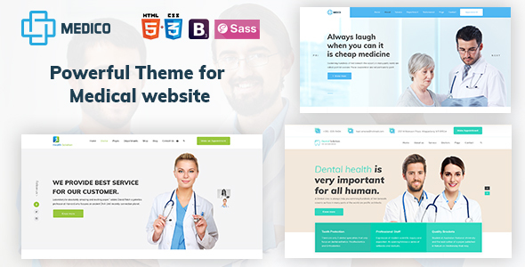 Medico - Medical, Health, Dental and Clinical HTML5 Template by ...