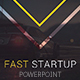 Fast Startup Powerpoint Tem-Graphicriver中文最全的素材分享平台