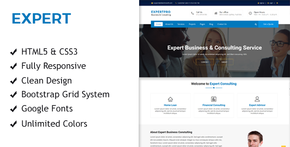 Expert business consulting responsive html template by sbtechnosoft expert business consulting responsive html template business corporate accmission Choice Image