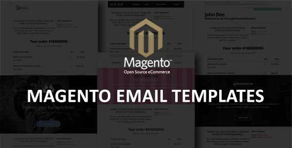 Magento Email Templates By Jopin ThemeForest - Open source email templates