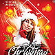 Dj Christmas Party Flyer-Graphicriver中文最全的素材分享平台