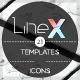 Line-X Infographic-Graphicriver中文最全的素材分享平台