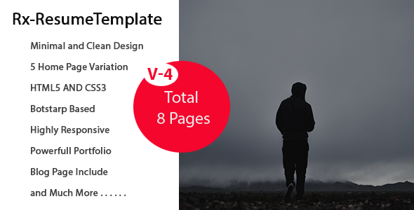 ThemeForest  Bootstrap Resume Template