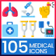 Medical Icons-Graphicriver中文最全的素材分享平台