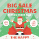 Christmas Sale Flyer-Graphicriver中文最全的素材分享平台
