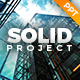 Solid Project PowerPoint Te-Graphicriver中文最全的素材分享平台