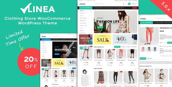 Linea - Clothing Store WooCommerce WordPress Theme by MagikCommerce