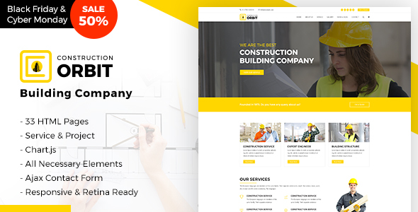 Construction Orbit Business Services Template for Architecture