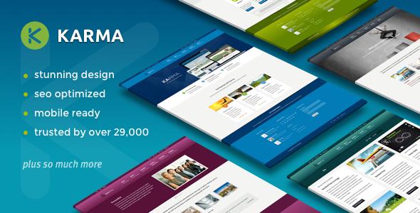 Karma - Responsive WordPress Theme by TrueThemes | ThemeForest