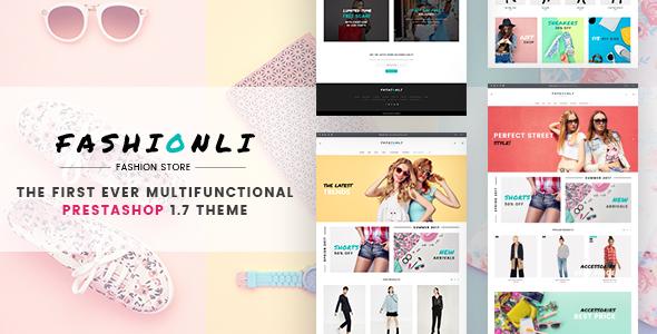 Fashionli Fashion Store PrestaShop Theme By ZEMEZ ThemeForest - Invoice maker free download rocco online store