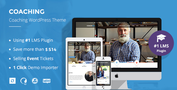Speaker and Life Coach WordPress Theme | Coaching WP by ThimPress ...