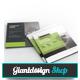 Corporate Square Brochure-Graphicriver中文最全的素材分享平台