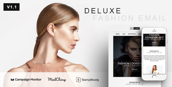 Deluxe fashion store ecommerce email newsletter template by yemail deluxe fashion store ecommerce email newsletter template newsletters email templates maxwellsz