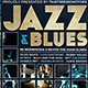 Jazz and Blues Flyer Templa-Graphicriver中文最全的素材分享平台