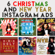 6 Christmas & New Year -Graphicriver中文最全的素材分享平台