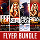 Club Flyer Bundle Vol.5-Graphicriver中文最全的素材分享平台