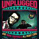 Concert Unplugged Flyer Tem-Graphicriver中文最全的素材分享平台