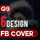 Facebook Cover Bundle - 6 D-Graphicriver中文最全的素材分享平台