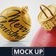 Christmas Ball Mockup 2-Graphicriver中文最全的素材分享平台