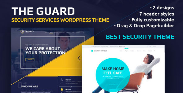 The Guard – Security Company WordPress Theme by secretlaboratory ...