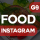 Food Instagram-Graphicriver中文最全的素材分享平台