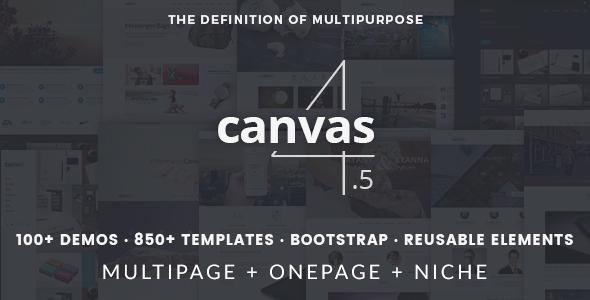 [HTML] CANVAS - THE MULTI-PURPOSE HTML5 TEMPLATE V  ...