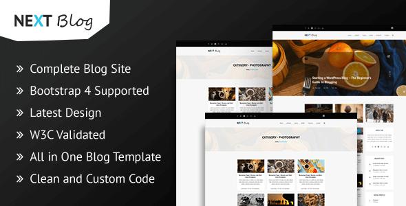 Next Blog - Blogging HTML Template by themeix | ThemeForest