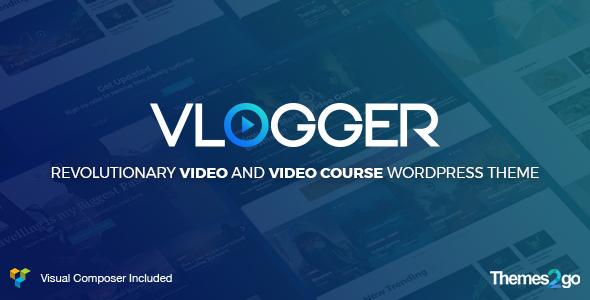 Vlogger: Professional Video & Tutorials WordPress Theme by ...