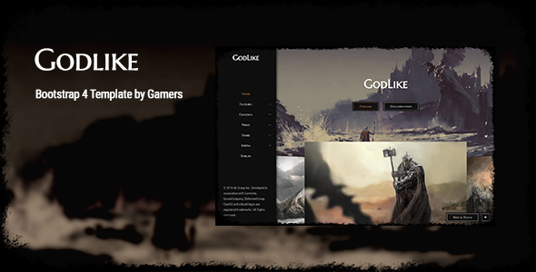 Godlike | The Game Template by _nK | ThemeForest