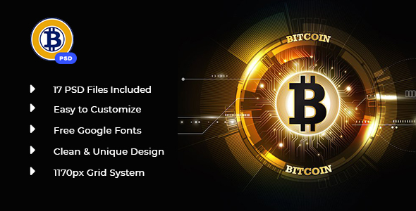 Richcoin psd template by irstheme themeforest publicscrutiny Gallery