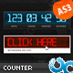 Digital Countdown Timer 01 AS3