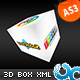 True 3D Image Menu Box AS3