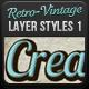 Vintage - Retro Text Styles-Graphicriver中文最全的素材分享平台